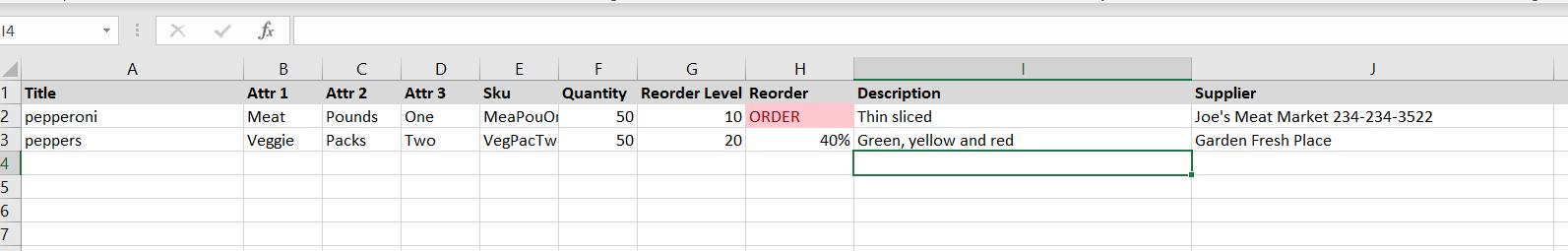 Excel Inventory Template Skumoo Blog